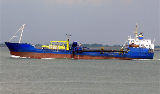 TRAILING SUCTION HOPPER DREDGER 1680 m3